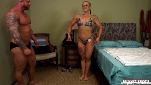 Viking And Princess - San Diego Bodybuilders Fuck Before Fitness Competition (2019/BrickYates.com/FullHD)