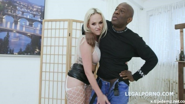 Louise Lee, Mike, Dylan Brown - 2On1 Dp And Dap Breaking With Louise Lee Short Dap, Intense Dp, Manhandle, Creampie And Swallow Gl043 (2019/LegalPorno.com/SD)