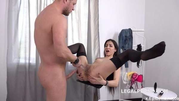 Polina Sweet, Mr Anderson - Mr. Anderson Anal Casting With Polina Sweet, Balls Deep Anal, Atm, Gapes, Cum In Mouth Gl047 (2019/LegalPorno.com/SD)