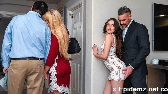 Aubree Valentine - Open House For A Slut (2019/SneakySex.com/HD)