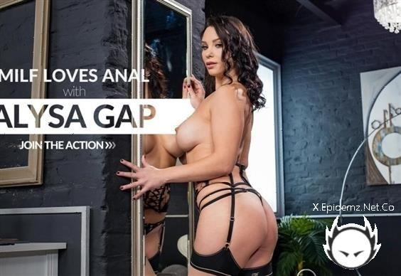 Alysa Gap - Horny Brunette Destroyed By Black Dick (2020/LetsDoeIt.com/HerLimit.com/SD)