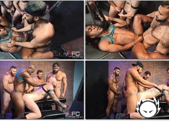 Rikk York, Ray Diesel, Rogue Status, Zack Acland, Riley Mitchel, Ffurrystud, Aaron Trainer - Pig Week Orgy 2019, Part 2  R486 (2019/RawFuckClub.com/HD)