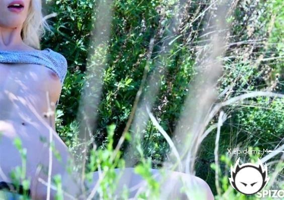 Sky Pierce - Blonde Gets Pounded On Outdoor Hike (2020/Spizoo.com/HD)