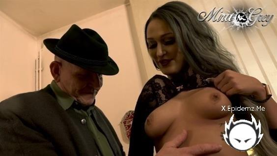 Mira-Grey - Disgusting Old Man With A Big Cock Explodes My Tight Pussy (2020/PornhubPremium.com/FullHD)