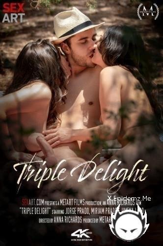 Jimena Lago, Miriam Prado - Triple Delight (2020/MetArt.com/SD)