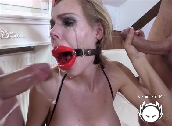 Hardcore BDSM Fucking For Florane Russell - Dp, Balls Deep, Punishment, Bondage (2020/LegalPorno.com/SD)