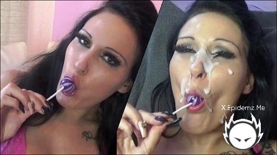 Mira-Grey - Naughty Teenie Sucks A Lolly And Wants Lots Of Sperm ! (2020/PornhubPremium.com/HD)