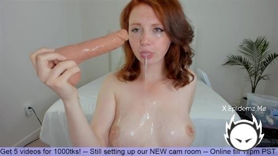 HayleeLove - Sloppy Bj And Cum Lube Glazed Tits (2020/PornhubPremium.com/FullHD)